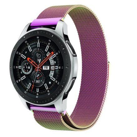 Samsung Galaxy Watch 46mm FémSzíj - Pótszíj Mágneses MultiColor