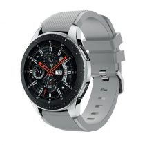 Szilikon Óraszíj - Pótszíj Samsung Galaxy Watch 46mm - Sport Style Series Szürke