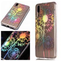 Huawei P20 Mintás Szilikon Tok -RMPACK- Laser Series Colorful LSC01