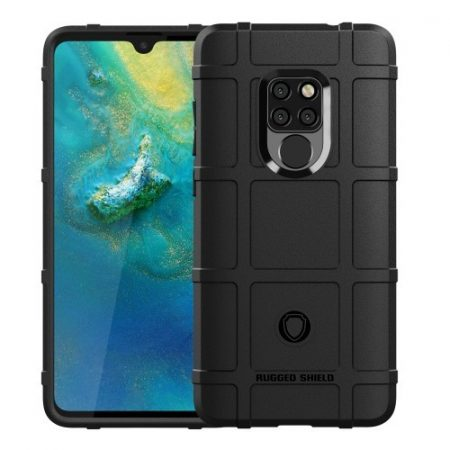 Huawei Mate 20 Ütésálló Anti-Shock Series Rugged Shield -RMPACK- Fekete