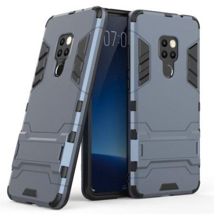 Huawei Mate 20 Védőtok 2in1 Tok Ütésálló - Kitámasztható TPU Hybrid Sötétkék
