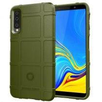 Samsung Galaxy A7 (2018) Ütésálló Anti-Shock Series Rugged Shield -RMPACK- KatonaZöld