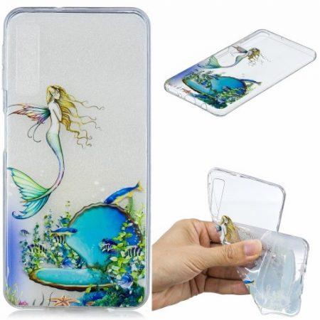 Samsung Galaxy A7 (2018) Szilikon Tok Mintás -RMPACK- FutureSeries FS06