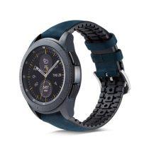 Huawei Watch GT Pótszíj - Óraszíj Bőr / Szilikonbelsővel Mintás A02
