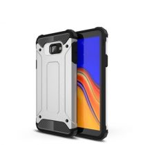 Samsung Galaxy J4+ / J4 Plus Ütésálló Armor Tok Guard Series 2in1 Ezüst