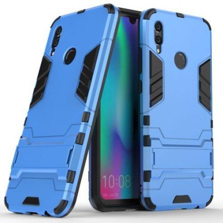 Huawei Honor 10 Lite 2in1 Tok Ütésálló - Kitámasztható TPU Hybrid Világoskék