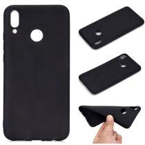 Huawei Honor 10 Lite Tok Szilikon Soft Matte Series Fekete