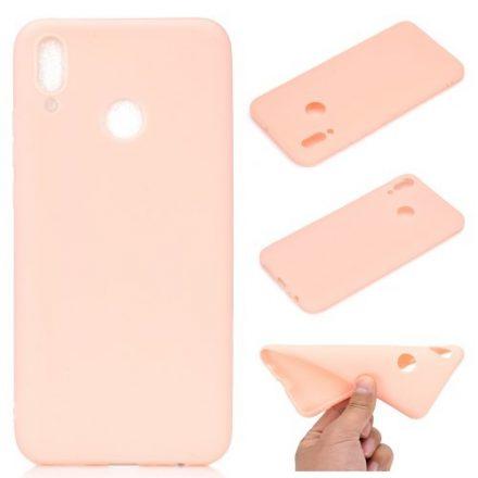 Huawei Honor 10 Lite Tok Szilikon Soft Matte Series Rózsaszín