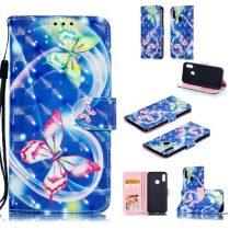 Huawei Honor 10 Lite Mintás Notesz Tok Kitámasztható -RMPACK- Life&Dreams LD01