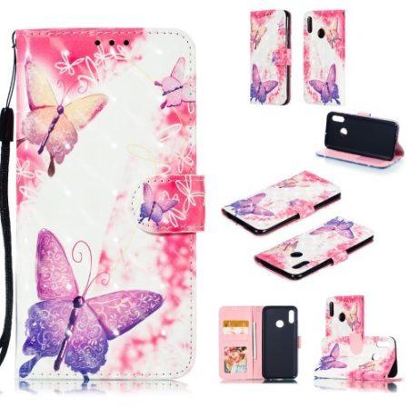 Huawei Honor 10 Lite Mintás Notesz Tok Kitámasztható -RMPACK- Life&Dreams LD02