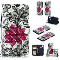 Huawei Honor 10 Lite Mintás Notesz Tok Kitámasztható -RMPACK- Life&Dreams LD04