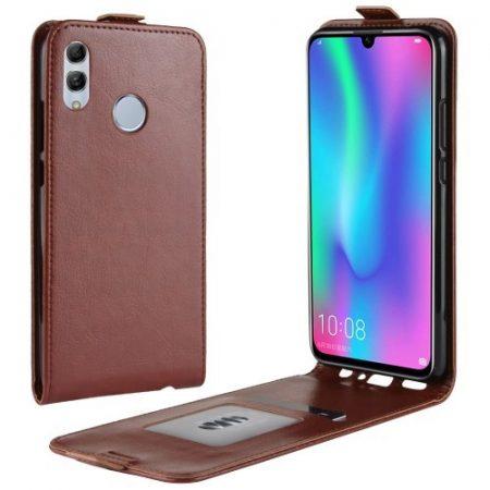 Huawei P Smart 2019 Flip Tok Mágneses Barna