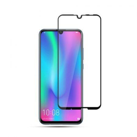 Huawei P Smart 2019 Képernyővédő Üveg - Full Size - Teljes 3D MOCOLO Fekete
