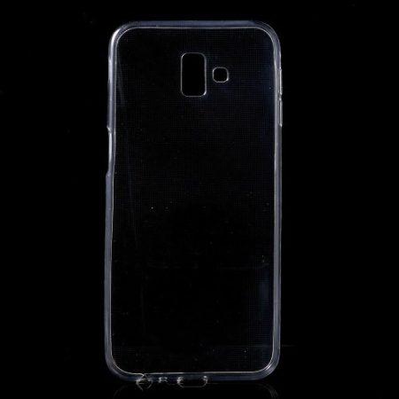 Samsung Galaxy J6+ / J6 Plus Szilikon Tok Áttetsző