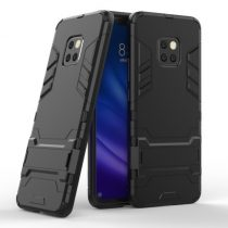 Huawei Mate 20 Pro 2in1 Tok Ütésálló - Kitámasztható TPU Hybrid Fekete