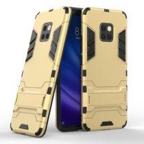 Huawei Mate 20 Pro 2in1 Tok Ütésálló - Kitámasztható TPU Hybrid Arany