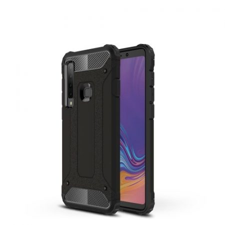 Samsung Galaxy A9 (2018) Ütésálló Armor Tok Guard Series 2in1 Fekete