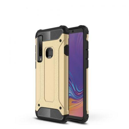 Samsung Galaxy A9 (2018) Ütésálló Armor Tok Guard Series 2in1 Arany