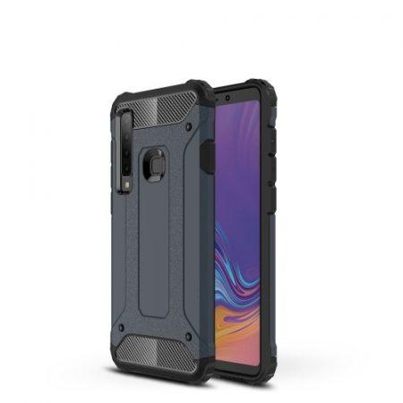 Samsung Galaxy A9 (2018) Ütésálló Armor Tok Guard Series 2in1 Sötétkék