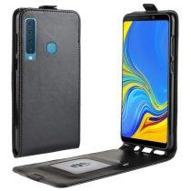 Samsung Galaxy A9 (2018) Flip Tok Mágneses Fekete