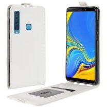 Samsung Galaxy A9 (2018) Flip Tok Mágneses Fehér