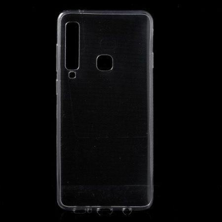 Samsung Galaxy A9 (2018) Szilikon Tok Áttetsző