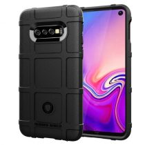 Samsung Galaxy S10e Ütésálló Tok Anti-Shock Series Rugged Shield -RMPACK- Fekete