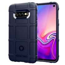 Samsung Galaxy S10e Ütésálló Tok Anti-Shock Series Rugged Shield -RMPACK- Sötétkék