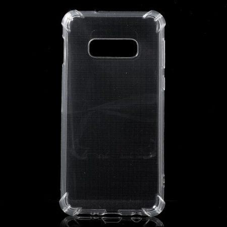 Samsung Galaxy S10e Ütésálló Szilikon Tok Shock TPU GEL Series Áttetsző