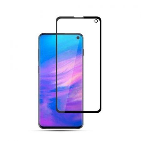 Samsung Galaxy S10e Kijelzővédő Üveg - Tempered Glass MOCOLO -Full Glue- Fekete