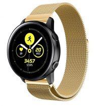 Samsung Galaxy Watch Active SM-R500 FémSzíj - Pótszíj Mágneses Arany