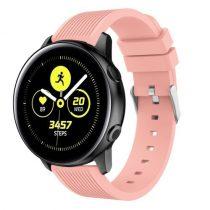 Szilikon Óraszíj - Pótszíj Samsung Galaxy Active SM-R500 Sport Style Series Rózsaszín