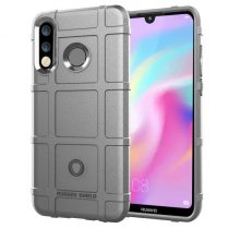 Huawei P30 Lite Ütésálló Tok Anti-Shock Series Rugged Shield -RMPACK- Szürke