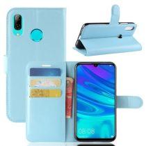 Huawei P30 Lite Notesz Tok Business Series Kitámasztható Bankkártyatartóval Világoskék