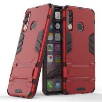 Huawei P30 Lite 2in1 Tok Ütésálló - Kitámasztható TPU Hybrid Piros