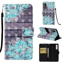 Huawei P30 Bankkártyatartóval Notesz Mintás Kitámasztható -RMPACK- SummerSeries SS07
