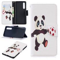 Huawei P30 Notesz Tok Mintás Kitámasztható-Bankkártyatartóval -RMPACK- Style Life&Dreams LD01