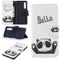 Huawei P30 Notesz Tok Mintás Kitámasztható-Bankkártyatartóval -RMPACK- Style Life&Dreams LD02