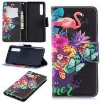 Huawei P30 Notesz Tok Mintás Kitámasztható-Bankkártyatartóval -RMPACK- Style Life&Dreams LD03