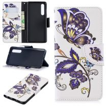 Huawei P30 Notesz Tok Mintás Kitámasztható-Bankkártyatartóval -RMPACK- Style Life&Dreams LD04