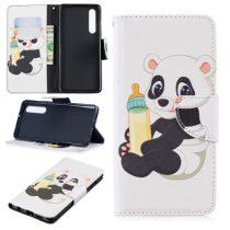 Huawei P30 Notesz Tok Mintás Kitámasztható-Bankkártyatartóval -RMPACK- Style Life&Dreams LD06