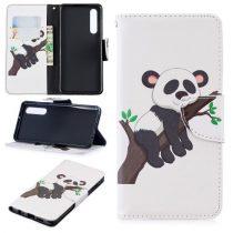 Huawei P30 Notesz Tok Mintás Kitámasztható-Bankkártyatartóval -RMPACK- Style Life&Dreams LD09