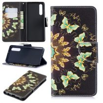 Huawei P30 Notesz Tok Mintás Kitámasztható-Bankkártyatartóval -RMPACK- Style Life&Dreams LD10