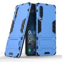 Huawei P30 - 2in1 Tok Ütésálló - Kitámasztható TPU Hybrid Világoskék