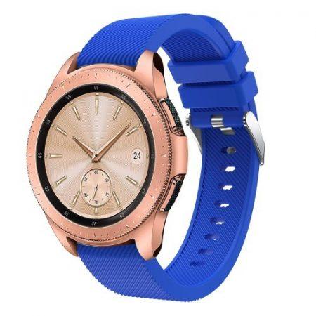 Samsung Galaxy Watch 42mm Szíj Sport Style Series Szilikon Pótszíj Világoskék