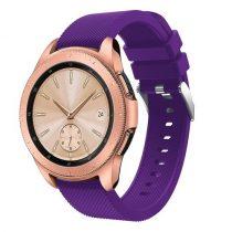 Samsung Galaxy Watch 42mm Szíj Sport Style Series Szilikon Pótszíj Lila