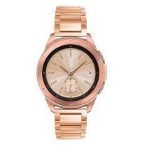 Samsung Galaxy Watch 42mm Pótszíj Fémszíj Óraszíj - Rózsaarany