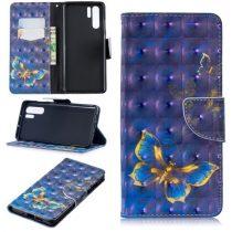 Huawei P30 Pro Bankkártyatartóval Notesz Mintás Kitámasztható -RMPACK- SummerSeries SS02