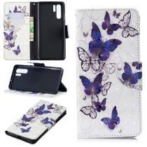 Huawei P30 Pro Bankkártyatartóval Notesz Mintás Kitámasztható -RMPACK- SummerSeries SS04