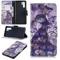 Huawei P30 Pro Bankkártyatartóval Notesz Mintás Kitámasztható -RMPACK- SummerSeries SS07